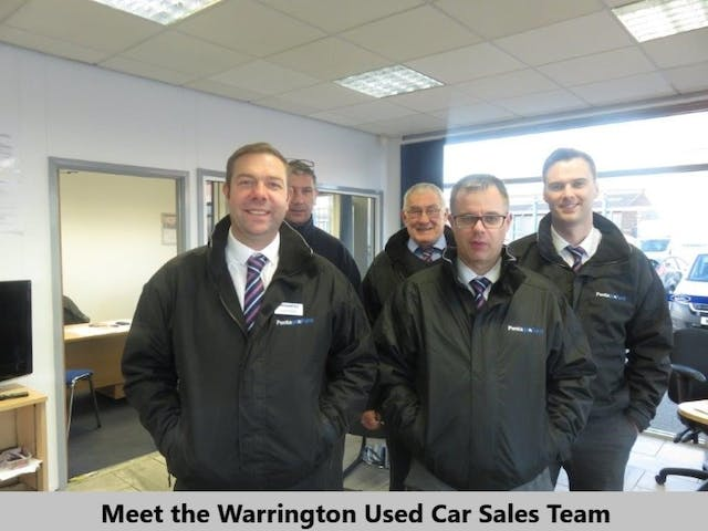 Pentagon Ford Warrington