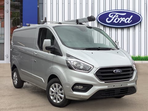 Ford Transit Custom 1.0 340 Ecoboost 13.6kwh Limited Panel Van 5dr Petrol Plug-in Hybrid Auto L1 Eu6 (126PS)   65N008175