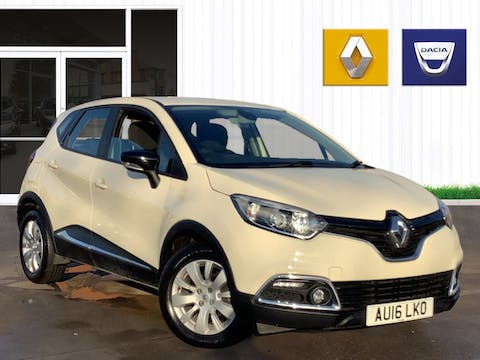 Renault Captur 0.9 Tce Energy Expression + SUV 5dr Petrol Manual (s/s) (114 G/km, 90 Bhp) | AU16LKO