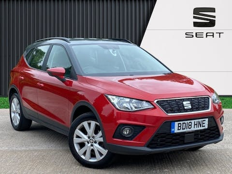 SEAT Arona 1.6 TDi SE Technology SUV 5dr Diesel Manual (s/s) (95 Ps)   BD18HNE