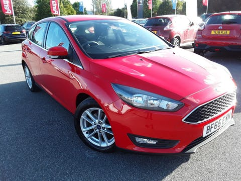 Ford Focus 1.5 TDCi 120PS Zetec Navigation 5dr | BF65EVN