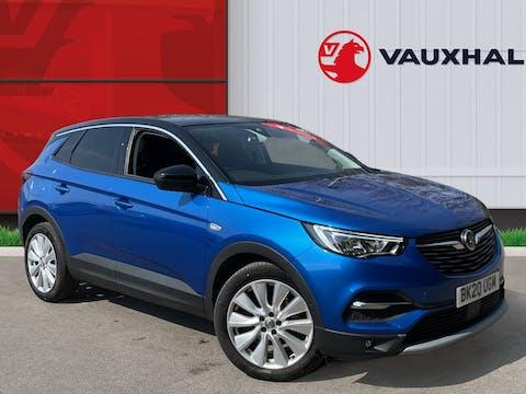 Vauxhall Grandland X 1.2 Turbo Elite Nav SUV 5dr Petrol Manual (s/s) (130 Ps) | BK20UGM