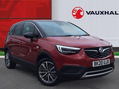 Vauxhall Crossland X 1.2 Turbo Ecotec SRi Nav SUV 5dr Petrol Manual (s/s) (110 Ps) | BK20UJX