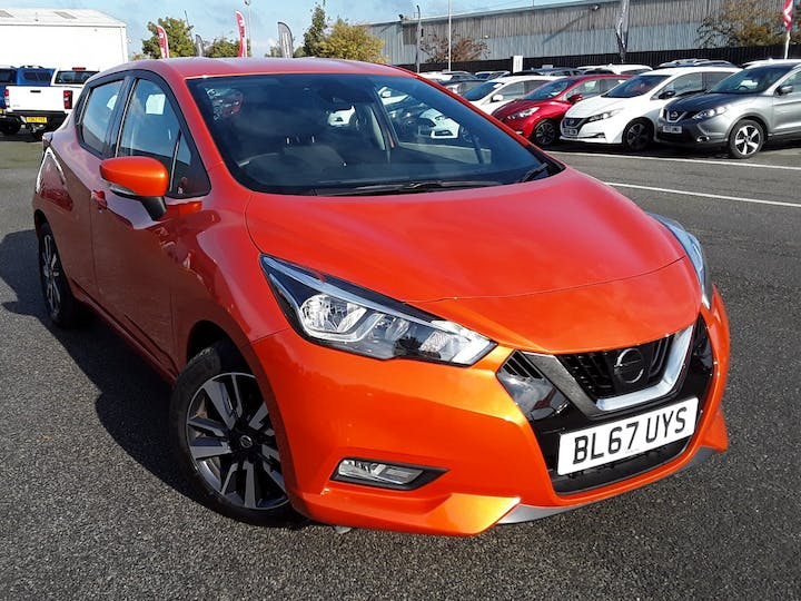 Nissan Micra 0.9 Ig T Acenta Limited Edition Hatchback 5dr Petrol Manual (s/s) (90 Ps) | BL67UYS | Photo 1