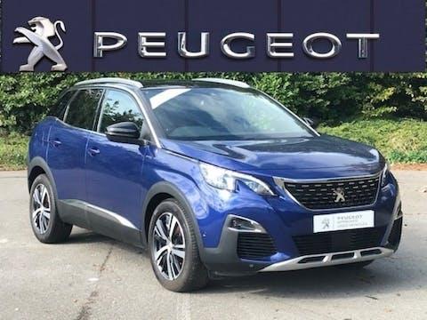 Peugeot 3008 1.5 Bluehdi GT Line SUV 5dr Diesel (s/s) (130 Ps) | BN19OBR