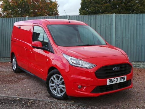 Ford Transit Connect 1.5 240 Ecoblue Limited Panel Van 5dr Diesel Manual L2 Eu6 (s/s) (120 Ps) | BN69UPB