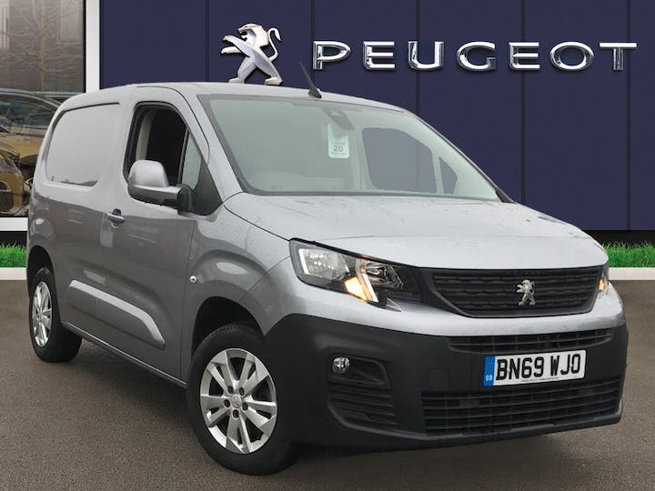 Peugeot Partner 1.6 Bluehdi 1000 Asphalt Standard Panel Van 5dr Diesel Manual SWB Eu6 (s/s) (100 Bhp) | BN69WJO | Photo 1