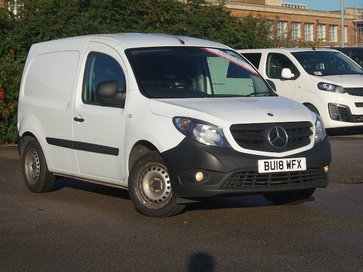 Mercedes Benz Citan 1.5 109 CDi Blueefficiency Panel Van 5dr Diesel Manual L2 Eu5 (s/s) (90 Ps) | BU18WFX | Photo 1