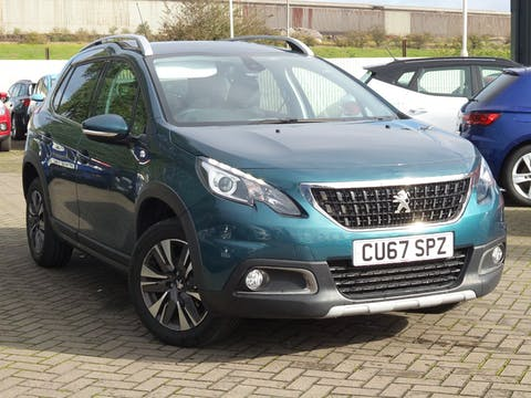 Peugeot 2008 1.2 Puretech Allure SUV 5dr Petrol (82 Bhp) | CU67SPZ