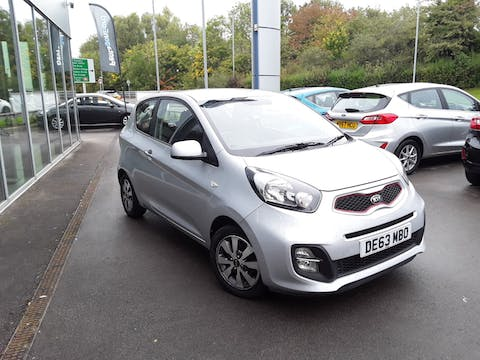 Kia Picanto 1.0 City Hatchback 3dr Petrol Manual (99 G/km, 68 Bhp) | DE63MBO