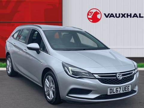 Vauxhall Astra 1.6 CDTi Blueinjection Tech Line Nav Sports Tourer 5dr Diesel (s/s) (136 Ps)   DL67UEE