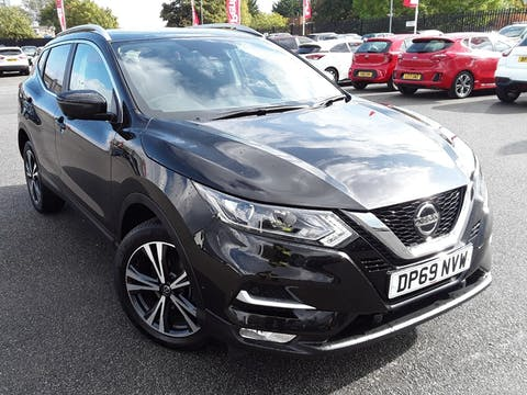 Nissan Qashqai 1.3 Dig T N Connecta SUV 5dr Petrol Dct Auto (s/s) (160 Ps) | DP69NVW