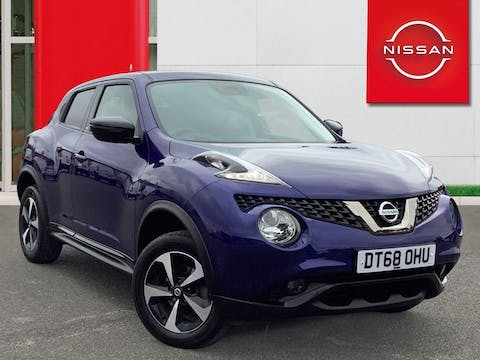 Nissan Juke 1.6 Bose Personal Edition SUV 5dr Petrol (112 Ps)   DT68OHU