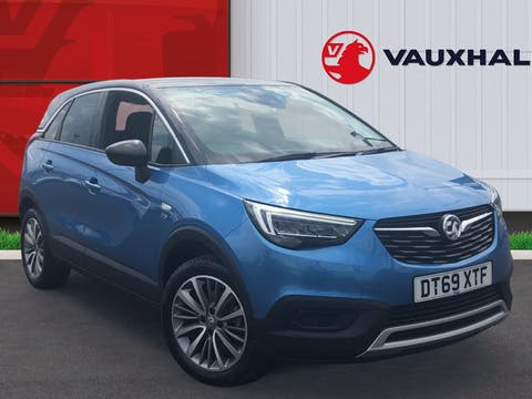 Vauxhall Crossland X 1.2 Turbo Ecotec Griffin SUV 5dr Petrol Manual (s/s) (110 Ps) | DT69XTF
