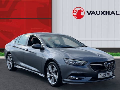 Vauxhall Insignia 1.5i Turbo Gpf SRi Vx Line Nav Grand Sport 5dr Petrol Manual (s/s) (165 Ps) | DU19ZNL