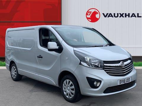 Vauxhall Vivaro 1.6 CDTi 2700 Sportive Panel Van 5dr Diesel Manual L1 H1 Eu6 (120 Ps)   DY18UDD