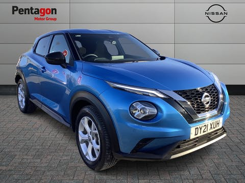 Nissan Juke 1.0 Dig T N Connecta SUV 5dr Petrol Dct Auto (s/s) (114 Ps)   DY21XUH