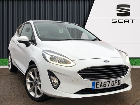 Ford Fiesta 1.0t Ecoboost Titanium Hatchback 3dr Petrol Manual (s/s) (125 Ps) | EA67OPD
