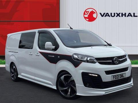 Vauxhall Vivaro L2 Diesel 3100 2.0d 180 Ps Elite H1 D/cab Auto   FD21DWL