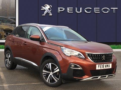 Peugeot 3008 1.2 Puretech Allure SUV 5dr Petrol (s/s) (130 Ps) | FE18WMA