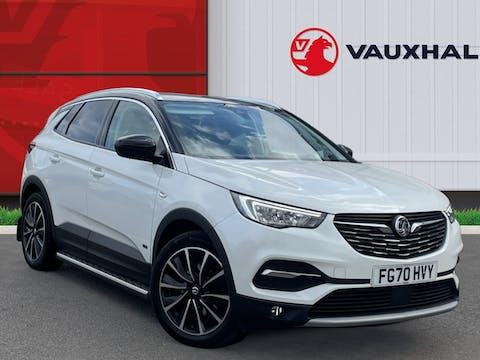 Vauxhall Grandland X 1.6 13.2kwh Elite Nav SUV 5dr Petrol Plug In Hybrid Auto 4wd (s/s) Hybrid4 (300 Ps) | FG70HVY