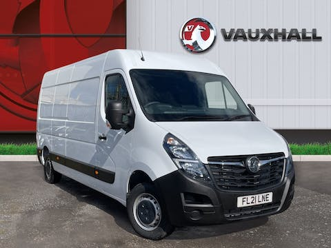 Vauxhall Movano 2.3 CDTi 3500 Biturbo Edition Panel Van 5dr Diesel Manual FWD L3 H2 Eu6 (135PS) | FL21LNE