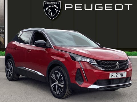 Peugeot 3008 1.5 Bluehdi GT SUV 5dr Diesel Manual (s/s) (130 Ps) | FL21YNT