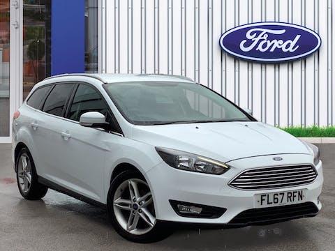 Ford Focus 1.5 TDCi Zetec Edition Estate 5dr Diesel (s/s) (120 Ps) | FL67RFN