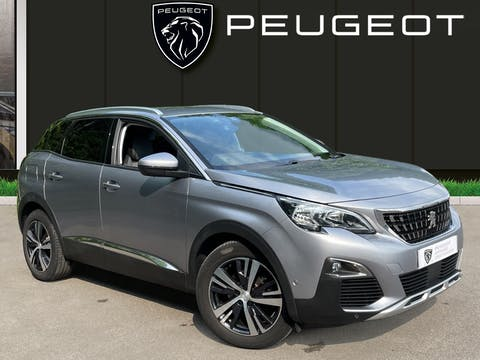 Peugeot 3008 1.5 Bluehdi Allure SUV 5dr Diesel (s/s) (130 Ps)   FL69EPZ