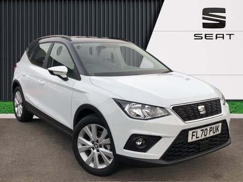 SEAT Arona 1.0 Tsi SE Technology SUV 5dr Petrol Manual (s/s) (95 Ps) | FL70PUK