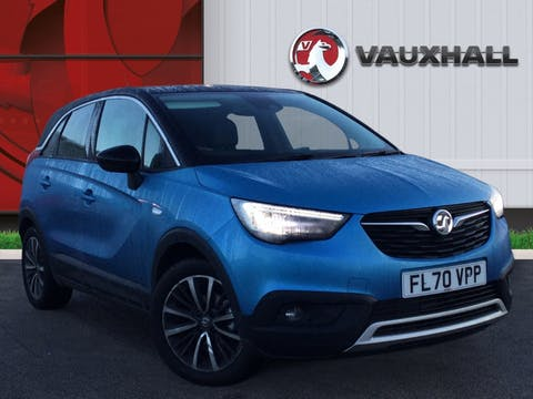 Vauxhall Crossland X 1.2 Elite SUV 5dr Petrol Manual (s/s) (83 Ps) | FL70VPP
