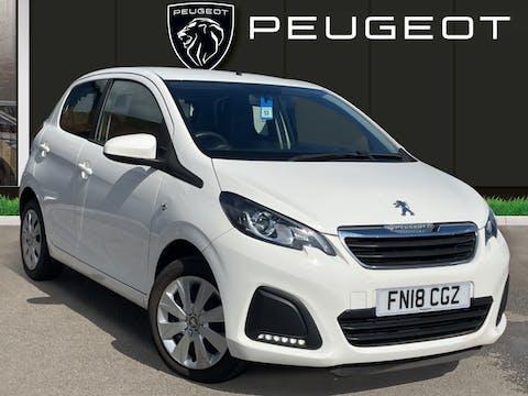 Peugeot 108 1.0 Active Hatchback 5dr Petrol (68 Ps) | FN18CGZ