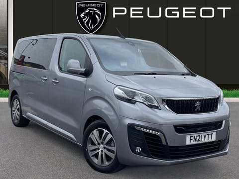 Peugeot Traveller 50kwh Allure Standard Mpv 5dr Electric Auto MWB N/a 7.4kw Charger (136 Ps) | FN21YTT