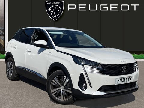 Peugeot 3008 1.6 13.2kwh Allure SUV 5dr Petrol Plug In Hybrid E Eat (s/s) (225 Ps) | FN21YYX