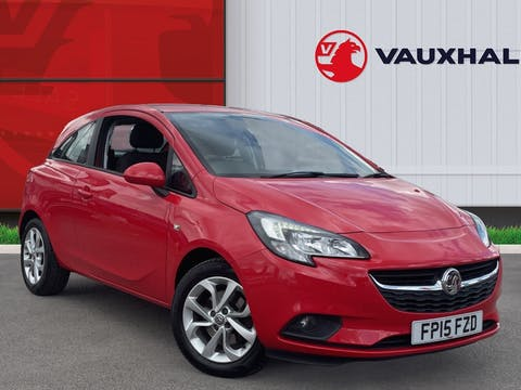 Vauxhall Corsa 1.0i Turbo Ecoflex Excite Hatchback 3dr Petrol (s/s) (a/c) (115 Ps) | FP15FZD