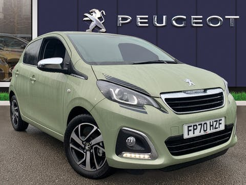 Peugeot 108 1.0 Collection Hatchback 5dr Petrol (s/s) (72 Ps) | FP70HZF