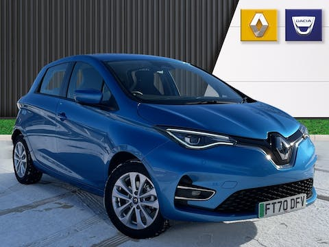 Renault Zoe 100kw I Iconic R135 50kwh 5dr Auto | FT70DFV