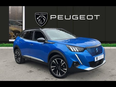 Peugeot 2008 50kwh GT Line SUV 5dr Electric Auto (136 Ps)   FV20APU