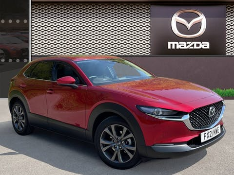 Mazda CX-30 2.0 E Skyactiv X Mhev GT Sport Tech SUV 5dr Petrol Manual (s/s) (186 Ps) | FX21NWE