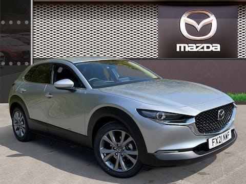 Mazda CX-30 2.0 E Skyactiv G Mhev Sport Lux SUV 5dr Petrol Auto (s/s) (122 Ps) | FX21NWF