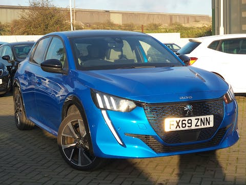 Peugeot 208 50kwh GT Hatchback 5dr Electric Auto (136 Ps) | FX69ZNN