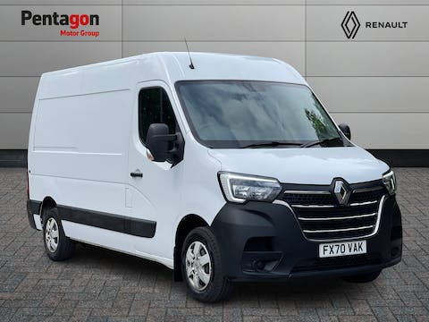 Renault Master 2.3 DCi Energy 35 Business+ Panel Van 5dr Diesel Manual FWD MWB Medium Roof Eu6 (s/s) (150 Bhp) | FX70VAK