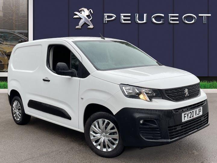 Peugeot Partner 1.2 Puretech 1000 Professional Standard Panel Van 5dr Petrol Manual SWB Eu6 (s/s) (110 Ps) | FY20VJP | Photo 1