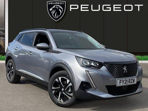 Peugeot 2008 1.2 Puretech Allure SUV 5dr Petrol Manual (s/s) (100 Ps)   FY21RZW