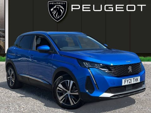 Peugeot 3008 1.2 Puretech Allure Premium SUV 5dr Petrol Manual (s/s) (130 Ps) | FY21THK