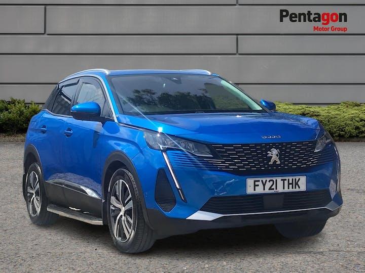 Peugeot 3008 1.2 Puretech Allure Premium SUV 5dr Petrol Manual (s/s) (130 Ps)   FY21THK   Photo 1