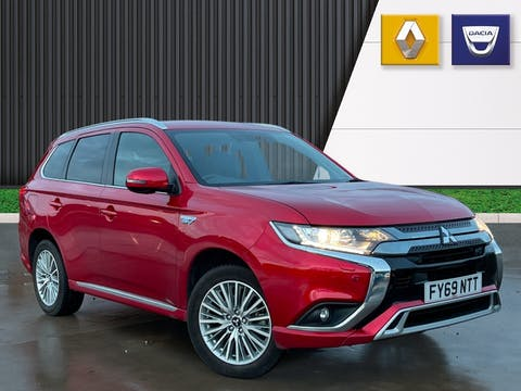Mitsubishi Outlander 2.4h Twinmotor 13.8kwh Dynamic Safety SUV 5dr Petrol Plug In Hybrid Cvt 4wd (s/s) (224 Ps) | FY69NTT