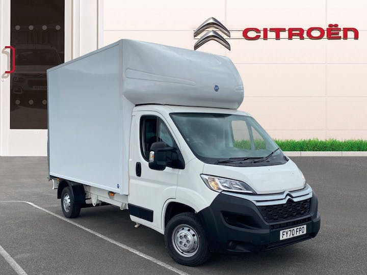 Citroen Relay 2.2 Bluehdi 35 Plus Ready To Run Luton 3dr Diesel Manual L3 Eu6 (s/s) (165 Ps) | FY70FPO | Photo 1