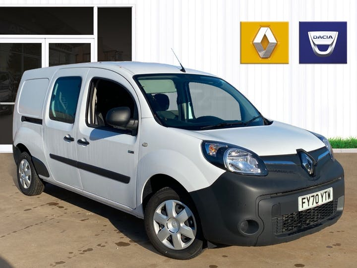 Renault Kangoo Maxi Ze Ll21 33kwh Business Crew Van 4dr Electric Auto (i) (60 Ps)   FY70YTW   Photo 1
