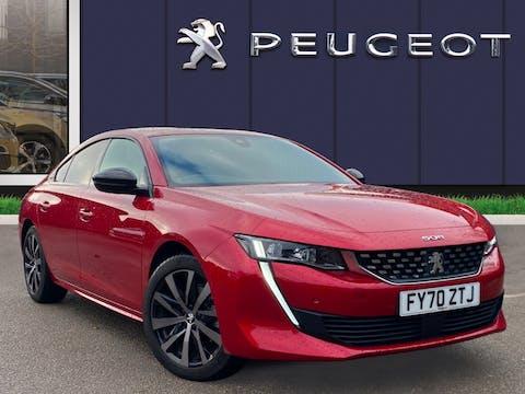 Peugeot 508 1.6 Puretech GT Line Fastback 5dr Petrol Eat (s/s) (180 Ps) | FY70ZTJ